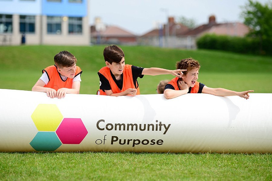 Community of Purpose work with local delivery partners to deliver a programme that helps provide young people with meaningful diversionary activities whilst also ensuring that they receive a free meal.