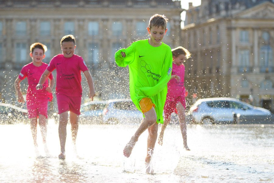 Community of Purpose take a group of primary school children to Bordeaux as part of the Bristol Together Championships